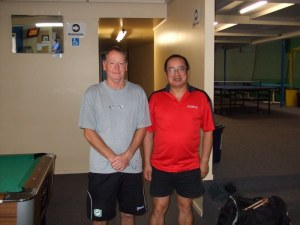 Mark Nalder and Malcolm Wong – Marlborough O40 & O50 MD Winners