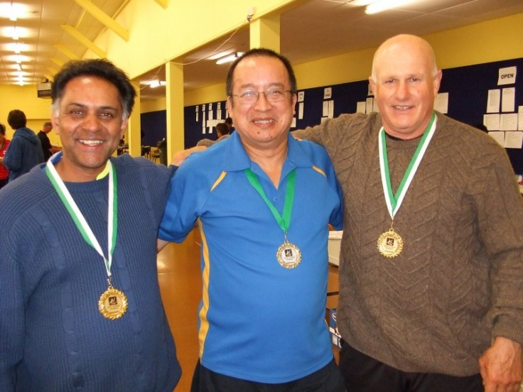 2010 North's O50s men's doubles.