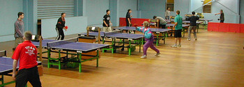 Wellington Table Tennis Stadium Newtown