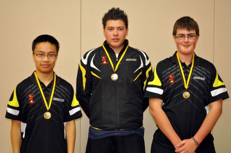 Waterloo Whippets, 2013 Division 3 Series 2 winners (Bunchhy Chheng, 2 Carlos Amos,  Ben Hatfield)