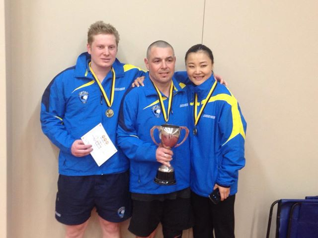 Belmont Bang, 2013 Premier Grade winners (Callum Rusbridge, Heath Murdoch, Catherine Zhou)