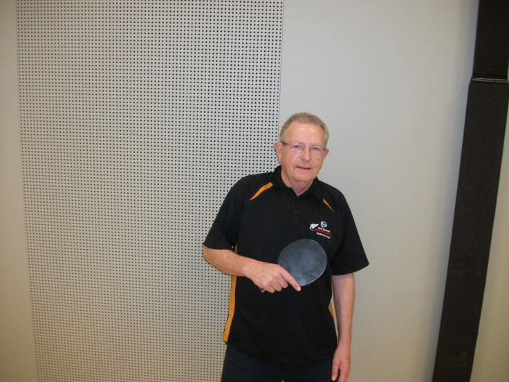Nelson Over 60 Singles and Doubles winner Alastair Naysmith.