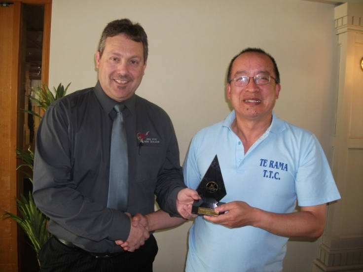 2013 TTNZ National Official of the year: Malcolm Wong