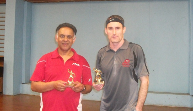 2013 Titan Doubles Champions Depak Patel and Paul Brown