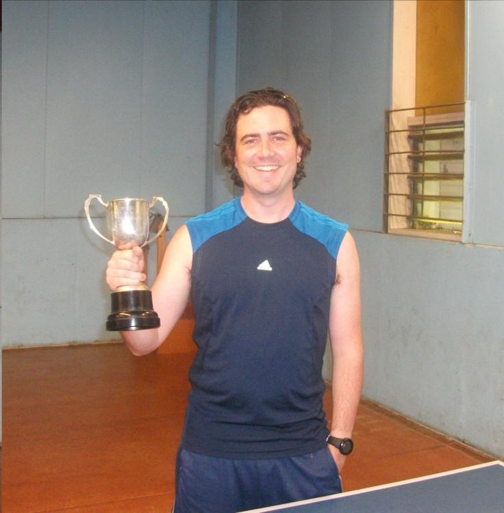 2013 Titan Club Singles Champion Ben Collins