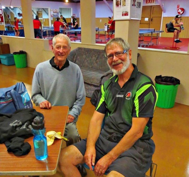 Brian Hearfield and Bob Knight at TTW Summer Intercub