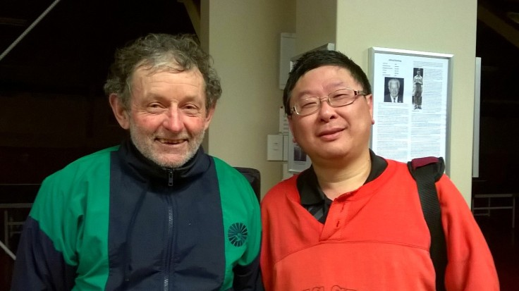 2015 Winter Interclub Grade Champions Div 1 (Tony Rutledge) and Div 2 (Martin Xiong)