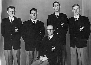 1954 NZ Men's Team to World Championships England