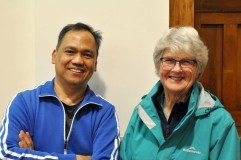 Onslow 2018 Mixed Doubles Champions Isagani (Inag) Alamani and Dianne Taylor